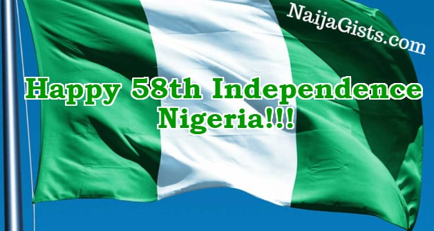 nigerian 58th independence day
