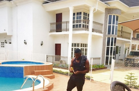 nigerian musicians own expensive houses
