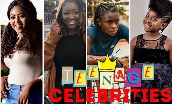 nigerian teenage celebrities actors actresses
