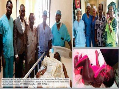 nigerian woman gives birth 67