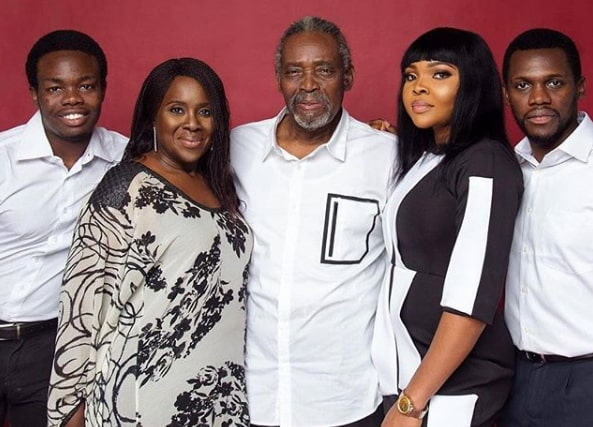 olu jacobs late daughter family
