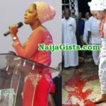 ondo prophetess undergoes blood ritual become ooni ife wife