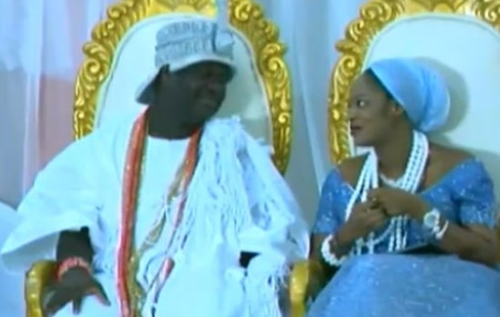 ooni of ife new marriage naomi crashed