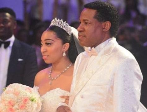 pastor chris daughter wedding wife absent