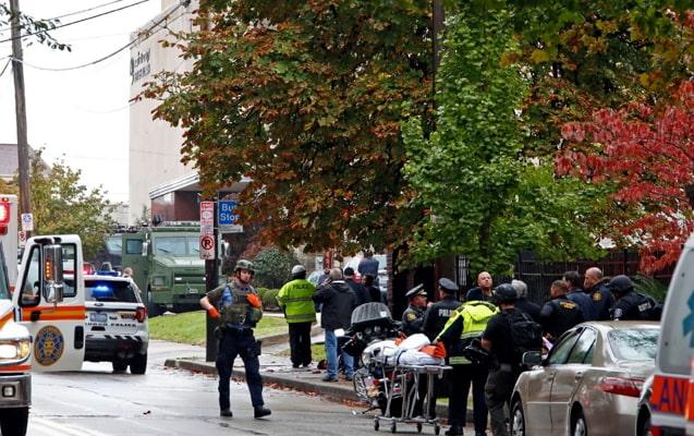 pittsburgh mass shooting photos