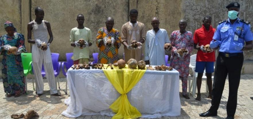 ritual killers paraded abuja