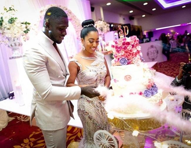 sharon oyakhilome second white wedding photos