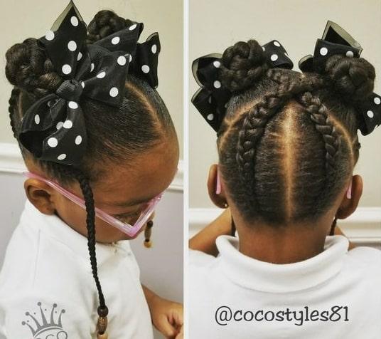 simple braided hairstyles blacks