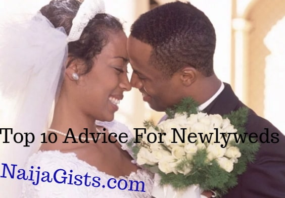 top 10 advice for newlyweds