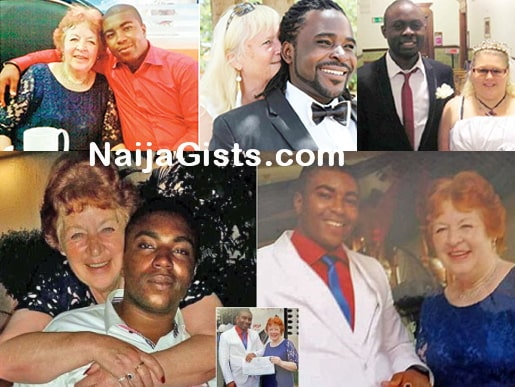 touching story of young nigerian men marrying older women to get