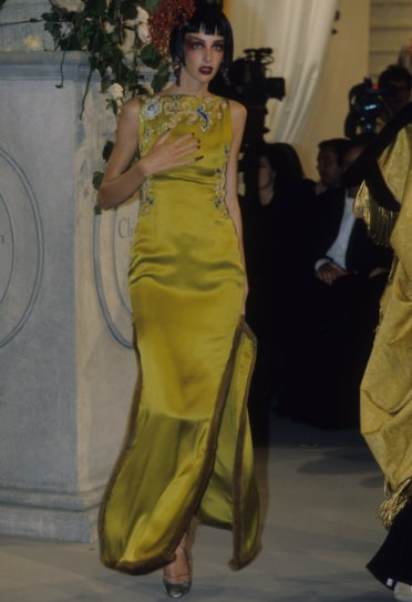 John Galliano Christian Dior dress 2nd most expensive