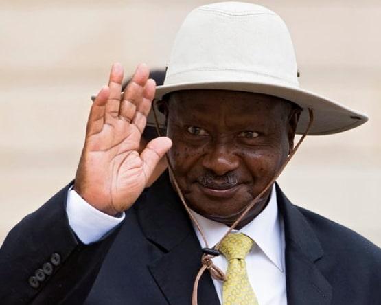 Museveni men cook wives