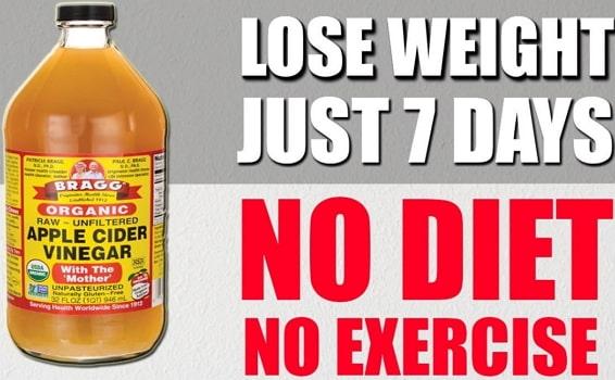 apple cider vinegar weight loss remedy recipe