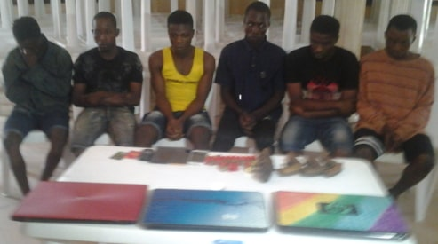 armed robbers arrested stanbic bank atm