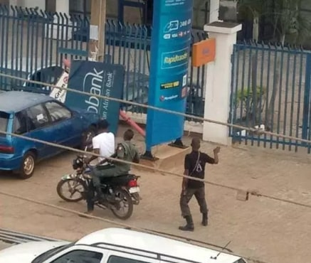 bank robbery lagere ile ife today