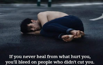 bleeding people didn't hurt you