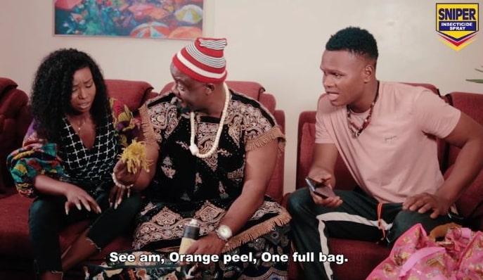 sniper nigeria advert finish dem series