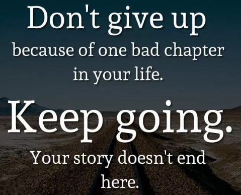 dont give up quotes 2019