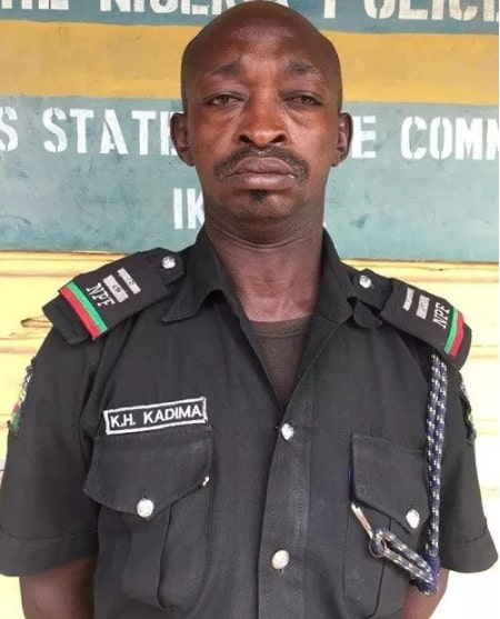 drunk mobile police inspector dismissed by npf