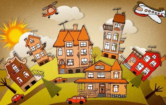 effect conflict global village