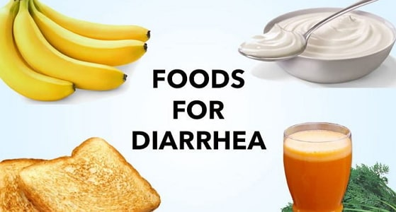 foods that stop diarrhea fast