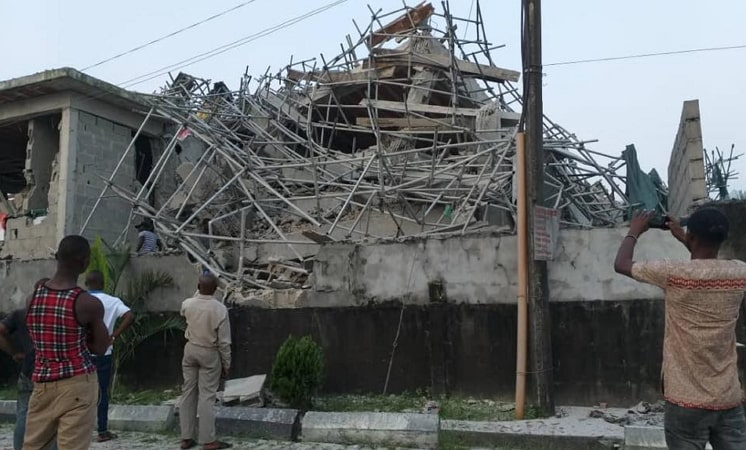 hotel building collapsed rivers state