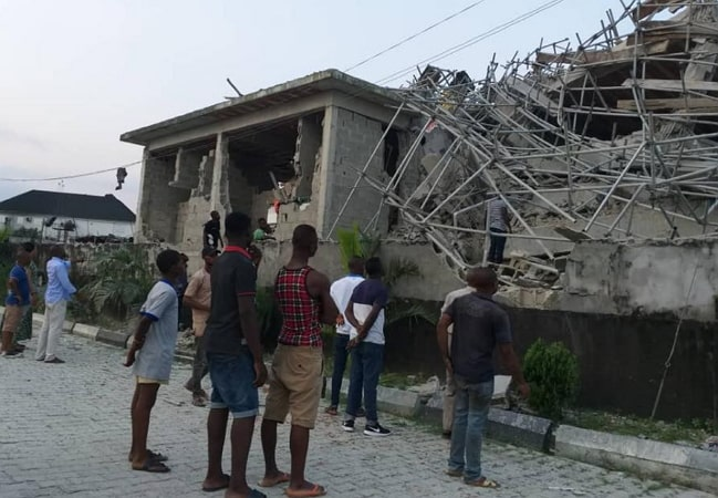 hotel building collapses port harcourt