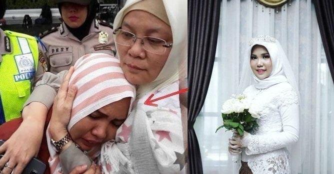 indonesian bride marries self