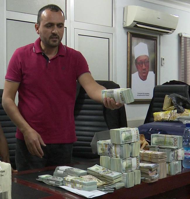 lebanese business man arrested 940million naira abuja airport