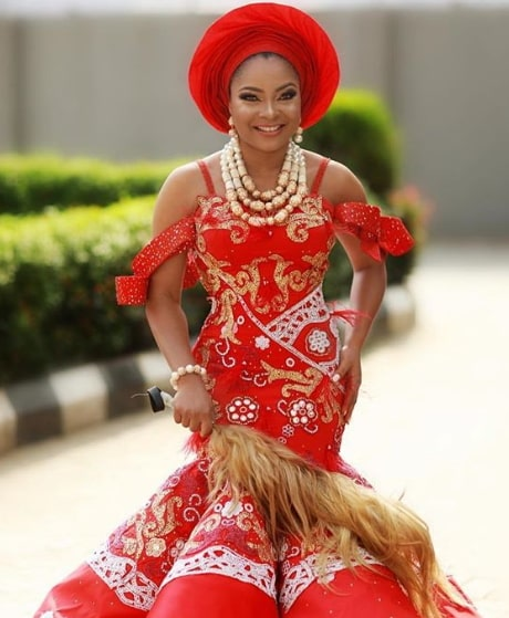 linda ejiofor wedding picture