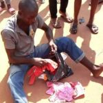 man caught stealing ladies undies imo state