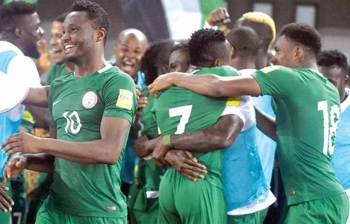 nigeria 4th africa new fifa rankings