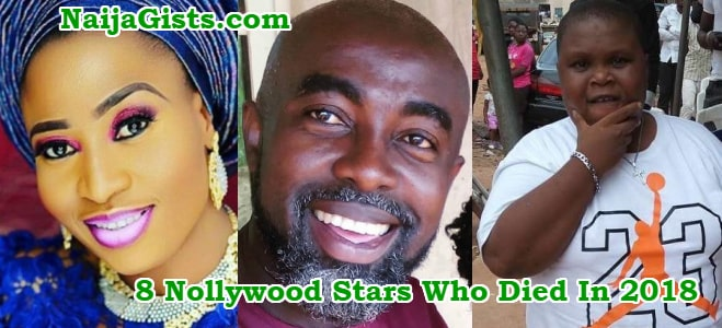 nigerian actors died in 2018