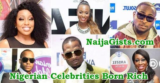 nigerian musicians celebrities born rich parents