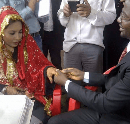 nigerian married to indian