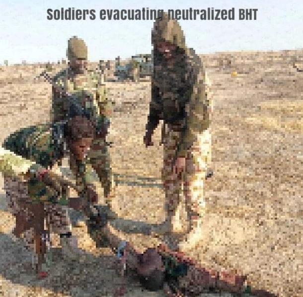 nigerian soldiers kill boko haram
