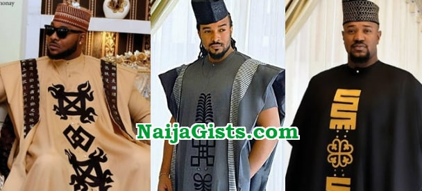 nollywood actors in agbada