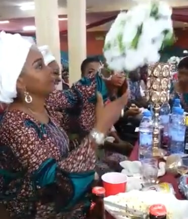 nollywood actress stealing party