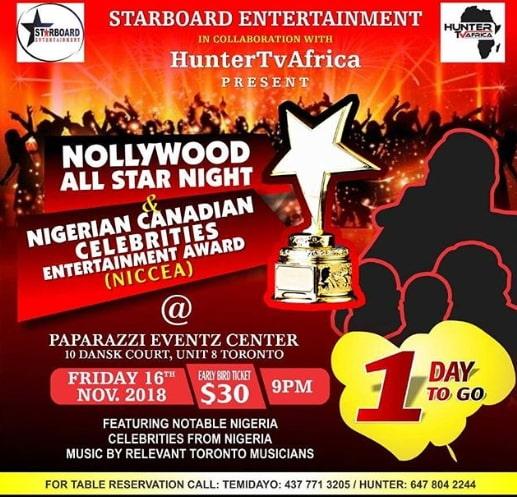 nollywood all star night