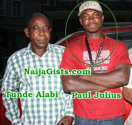 nollywood film director paul julius dupes tunde alabi