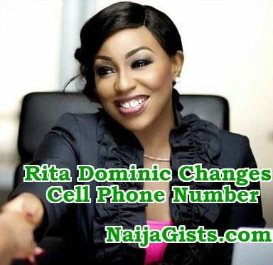 rita dominic changes phone number