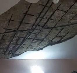 roof collapses woman lekki lagos
