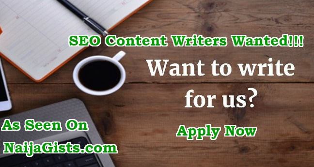 jobs seo article content writers nigeria