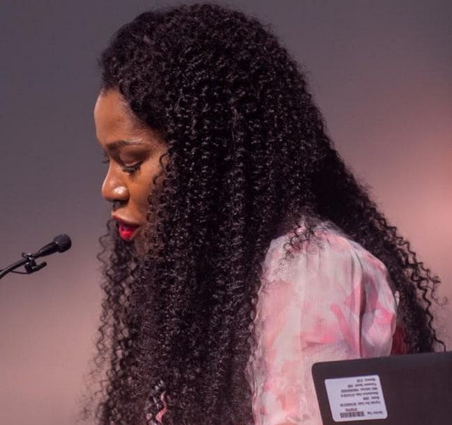 stephanie linus delivers lecturer new orleans university