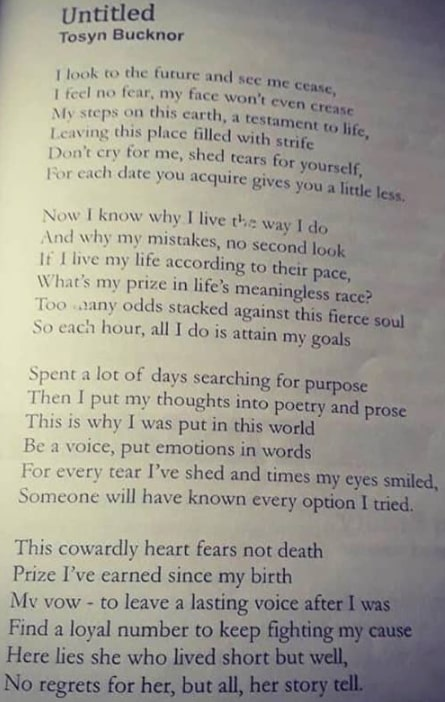 tosyn bucknor poem