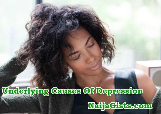 underlying causes depression