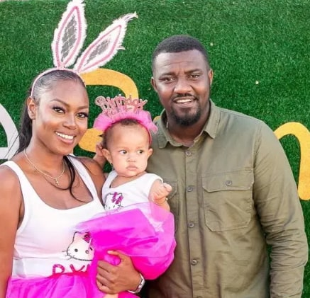 yvonne nelson daughter first birthday