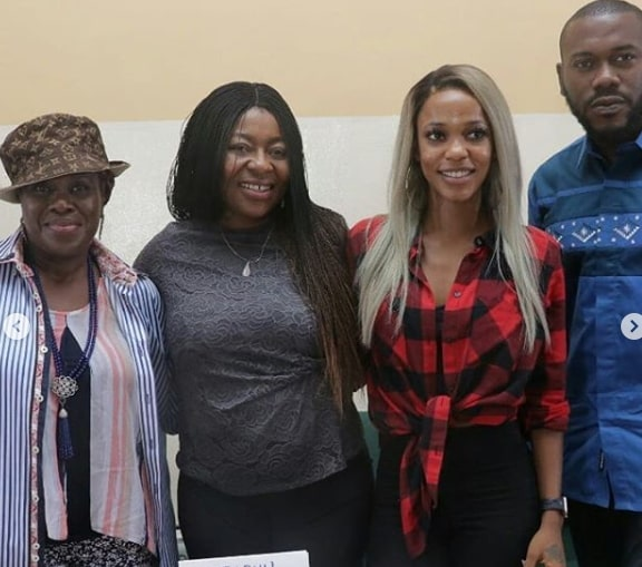 2 weeks in lagos press conference photos