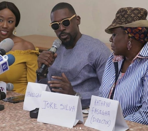 2 weeks in lagos press conference