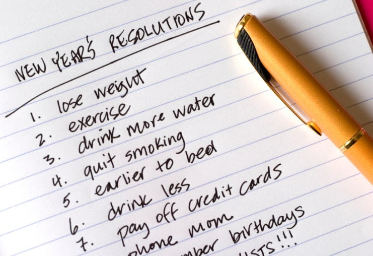 2019 new year resolution ideas